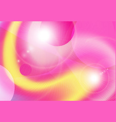 background yellow pink vector image vector image