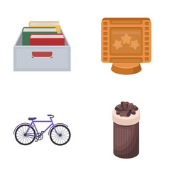 Education sports and other web icon in cartoon vector