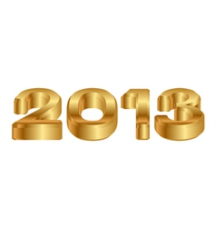 2013 - 3d icon vector image