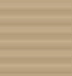 Brown cardboard background with corrugated texture vector