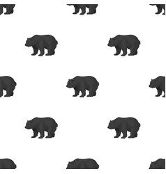 canadian brown bear canada single icon in vector image