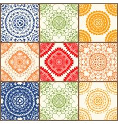 Ceramic tiles set vector