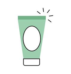 Cream spa product icon vector