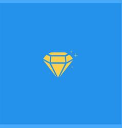diamond symbol design vector image