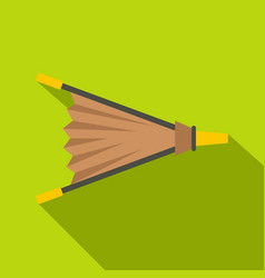 Fire bellows icon flat style vector