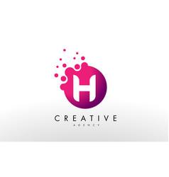 Letter h logo h letter design vector