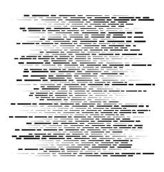 Random segmented lines pattern dynamic dashed vector