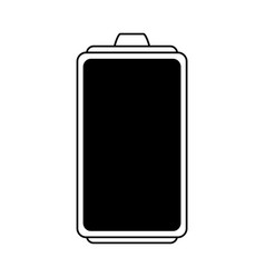 Small battery icon image vector