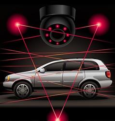 Car security vector
