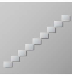 staircase upstairs Conceptual image vector image vector image
