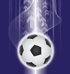 abstract soccer background vector image vector image