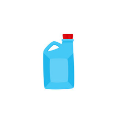 flat car oil canister isolated icon vector image vector image