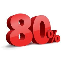 80 percent vector