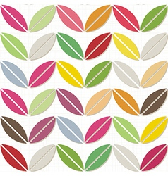 Colorful geomertic background vector image