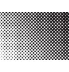 Halftone background gradient of dots vector