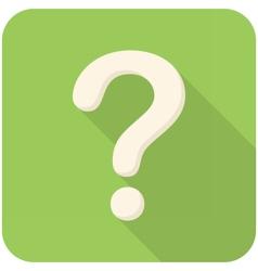 Question icon vector image