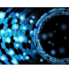 bright transparent background vector image