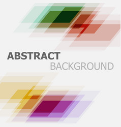 abstract colourful business banner background vector image vector image