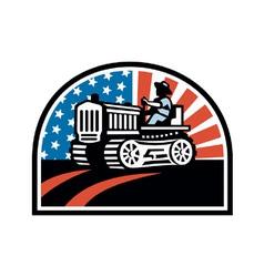 American Farmer vector image vector image