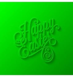 easter lettering background vector image vector image