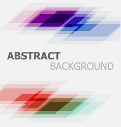 Abstract colourful business straight lines vector