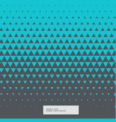 Blue and gray abstract triangle background vector