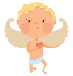 Cupid angel vector