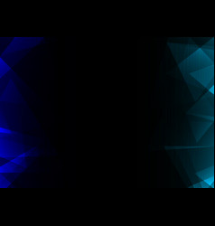 Facet side abstract dark background vector