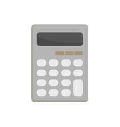school calculator flat vector image