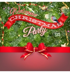 Christmas vintage background EPS 10 vector image