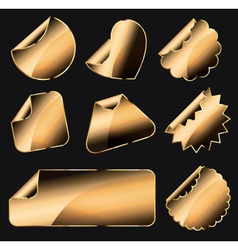 label sticker vector image vector image