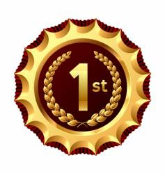 award for winner vector image vector image