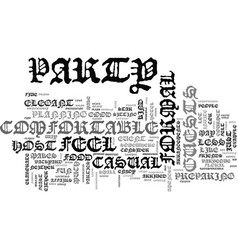 Are you a formal or casual host text word cloud vector