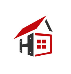 letter h home repair vector image