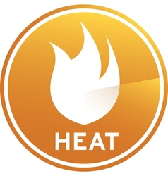 Heat Graphic Image vector image