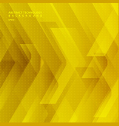 abstract yellow tech diagonal geometric vector image