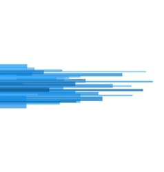 Blue Straight Lines Abstract on Light Background vector image