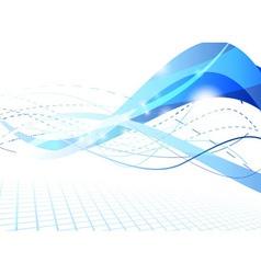 flare futuristic background vector image