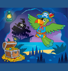 Pirate cove topic image 1 vector