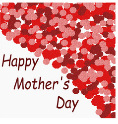 postcard to mother s day holiday vector image