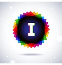 Spectrum logo icon Letter I vector