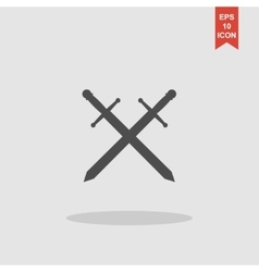 sword icon beautiful vector image