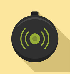 Wireless modern charger icon flat style vector