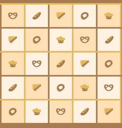 bakegoods background vector image vector image