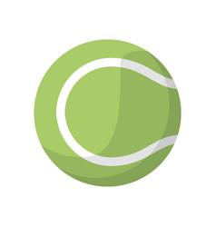 tennis ball sport icon vector image