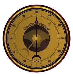 Barometer eps10 vector image