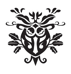 design of motif on white background vector image