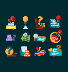Do you know typography design with promotional vector
