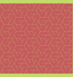 geometric seamless pattern background with line vector image