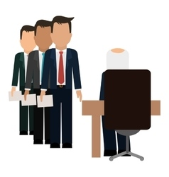 hiring human resources related icons image vector image
